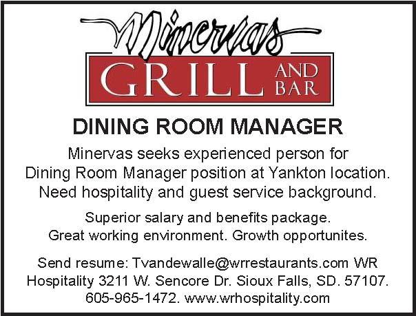 Dining room manager nebraska hires for Dining room manager