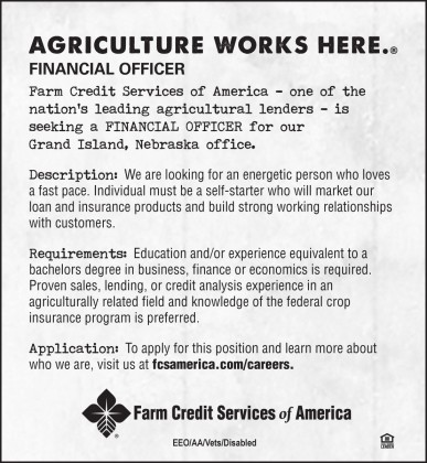 Financial Officer Ad Grand Island