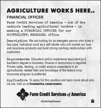 Financial Officer Ad Scottsbluff 053119